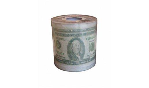 100 DOLAR TUVALET KAĞIDI