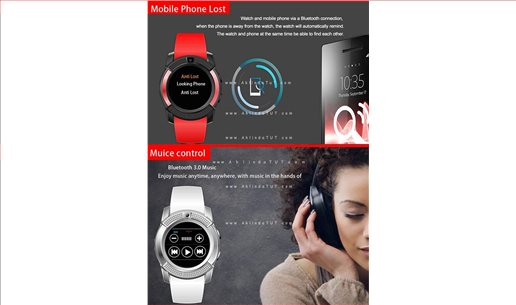 ANGELEYE W28 KAMERALI AKILLI SAAT SMART WATCH