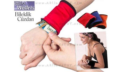 BİLEKLİK CÜZDAN 3'LÜ SET - WRİST WALLET