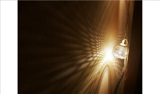 DEKORATİF LED METAL ZİNCİR ŞERİT TOPLAR - GÜMÜŞ RENK 20 ADET