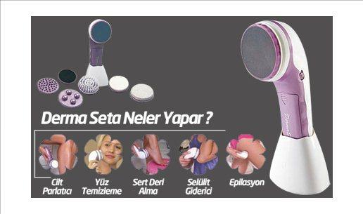 DERMA SETA EPİLASYON SELÜLİT VE MASAJ ALETİ