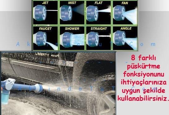 EZ WATER JET DETERJAN HAZNELİ 8 FARKLI BASINÇLI SU TABANCASI