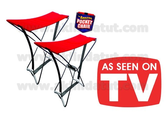 KATLANABİLEN PORTATİF CEP SANDALYESİ  AMAZING-POCKET-CHAIR