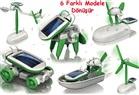 6 FARKLI MODELE DÖNÜŞEN GÜNEŞ ENERJİLİ ROBOT ( 6 İN 1 ROBOT KİTS )
