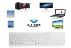 KABLOSUZ KLAVYE VE TOUCHPAD -  WİRELESS TOUCHPAD KEYBOARD RL020
