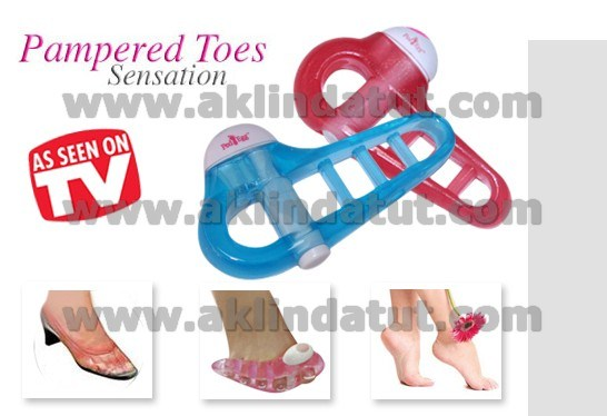 PAMPERED TOES SENSATION T�TRE��ML� RAHATLATICI AYAK TERAP�S�
