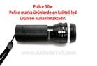 POLİCE 50W ZOOMLU EL FENERİ (ORJİNAL)