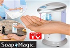 SOAP MAGİC SENSÖRLÜ VE OTOMATİK SIVI SABUNLUK VE DEZENFEKTAN DİSPANSERİ